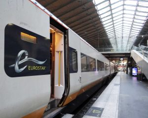 Eurostar International train