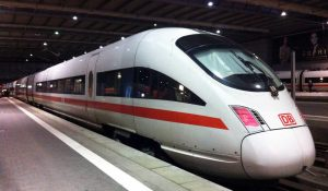 High speed German train